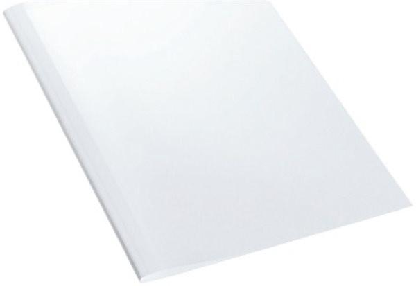 Thermomappe (4.0mm für 30-40 Blatt), vorne transparent und hinten weiß Leitz