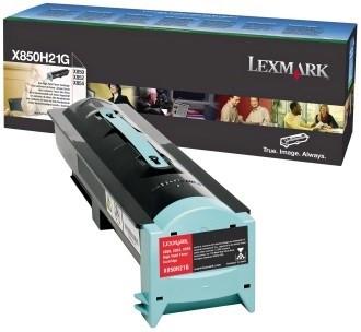 Original Toner Lexmark X850H21G, ca. 30.000 S., schwarz