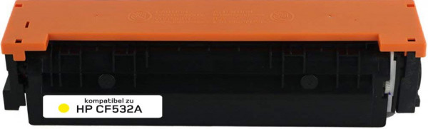 Alternativ Toner ersetzt HP 205A / CF532A , ca. 900 S., gelb