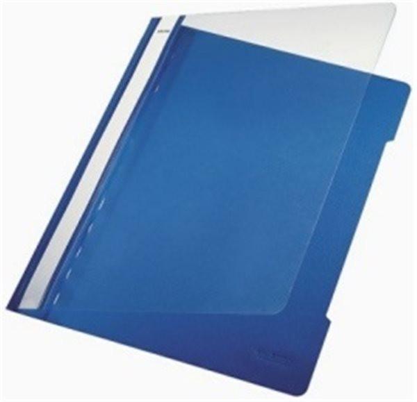 Schnellhefter A4 Plastik blau Leitz Oberteil klar (4191-00-35)