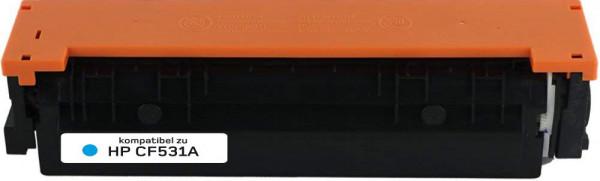 Alternativ Toner ersetzt HP 205A / CF531A, ca. 900 S., cyan