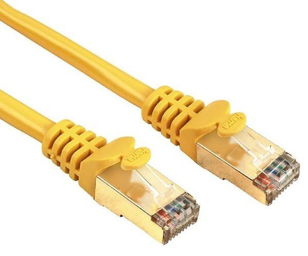 Patchkabel/ Netzwerkkabel HAMA Cat5e, 3m lang, mit vergoldeten Steckern