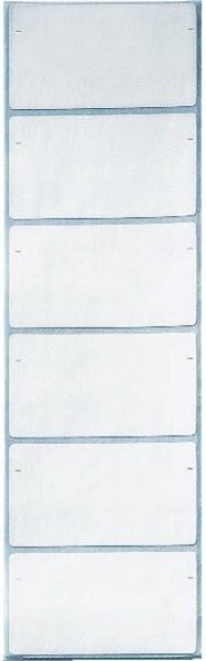 Beschriftungsschilder auf Streifen weiß Leitz (6640-00-00)