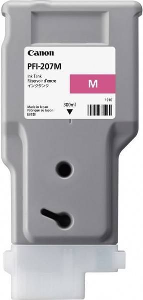Original Tinte Canon PFI-207M, 300 ml, magenta